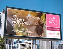 Salão Noiva Sul 2015 - Campanha de Divulgação
