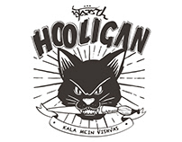 The webdesign and identity for HOOLIGAN