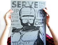 serigraphie poster Robocop