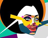 Pop art illustration