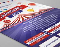 British Academies 2018 - Carnival Flyer