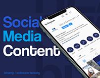Social Media Content | Servicios Inmobiliarios 2019