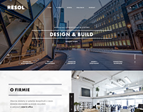 Design & Build Web Design Project