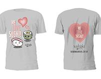 Camisetas Sushiaki Lovers