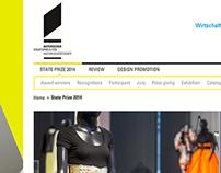 Bavaria Design Award Website