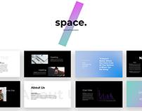 Space - Minimal PowerPoint Presentation