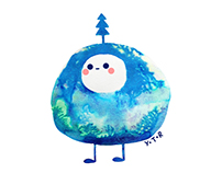 Winter blobs