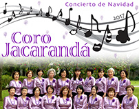 Coro Jacarandá -Poster, program flyer, and tickets