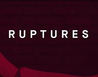 Ruptures - Magazine numérique et affiche