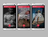 Android fitness app - GymJournal