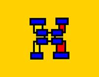 Font Mondrian