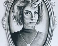 Unicorned (Self Portrait)