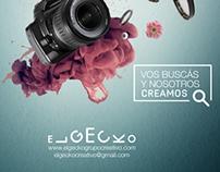 Vos buscás y nosotros creamos. Self-promotion campaign
