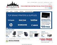 Chicago Toner website