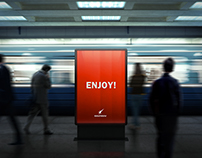 Lightbox Subway Billboards Mock-Ups