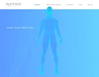 Nypro Web (UX/UI)