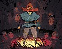 Ashitaka : Ghibli tribute poster