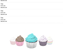 Cupcake Chatroom Mock-Up in Javascript and Materialize