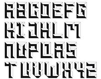 "Typography ""Roman Cubic"""