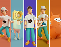 C4D_IP character Design Review