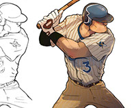 Character design for Sports games