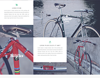 Product Page - Bike