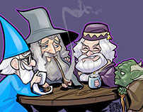 Wizened Wizards