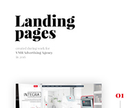 Landing pages 2016