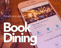 Disneyland Dining Reservations