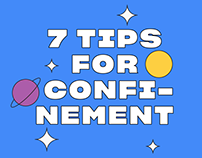 7 tips for confinement