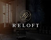 Elegantes Logodesign für RELOFT