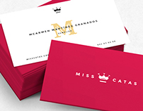 MISS CATAS - logo & brand image