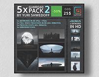 5x GUMROAD PACK by YURI SHWEDOFF 2
