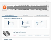 Copyright Management Interface