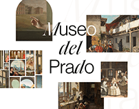 Museo del Prado — website redesign concept
