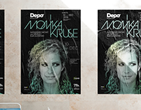 Monika Kruse party poster