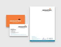 Monatrix - Stationery Design