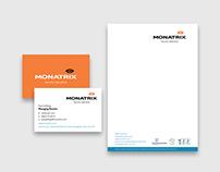 Monatrix - Stationery Design