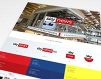 Sky News Brand Identity 2018