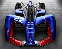 Formula E Concept Liveries