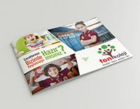 Fen Koleji Katalog Tasarımı