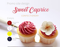 Promo site of Confectionery