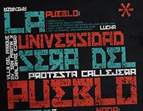 Póster tipográfico - Tipografía 2 UADE 2016