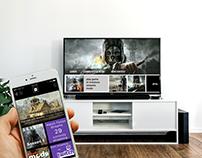 Bethesda Portal Mobile & Console App Design