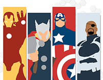 Marvel Graphics (Internship Work)