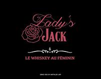 LADY'S JACK - JACK DANIEL'S - DEMO IDEA