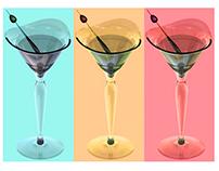 Verre de martini