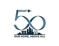 Republic of Singapore Airforce — 50th Anniversary Logo