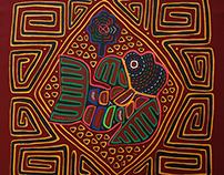 Mola: visión tejida de la realidad Kuna