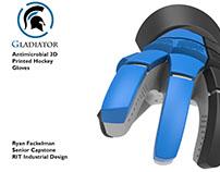 3D Printed Hockey Gloves
